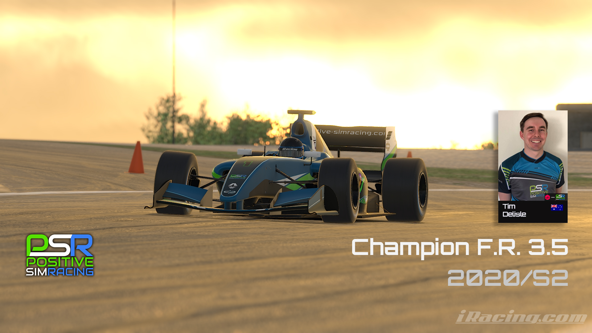 New points record in the iRacing FR3.5 series